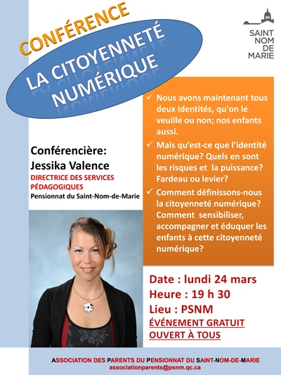 Affiche confrence citoyennete